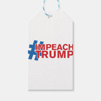 IMPEACH TRUMP GIFT TAGS