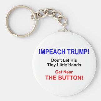 Impeach Trump! Keychain