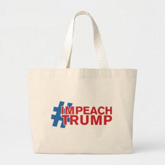 IMPEACH TRUMP LARGE TOTE BAG