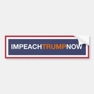 Impeach Trump NOW! Bumper Sticker