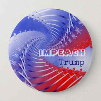 Impeach Trump Patriotic Anti-Trump Round Button