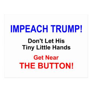 Impeach Trump!  Postcard