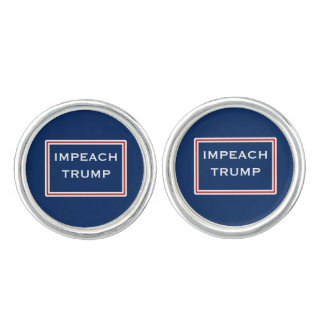 Impeach Trump Red White Resist Cuff Links