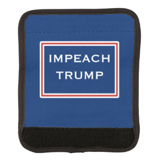 Impeach Trump Red White Resist Luggage Handle Wrap