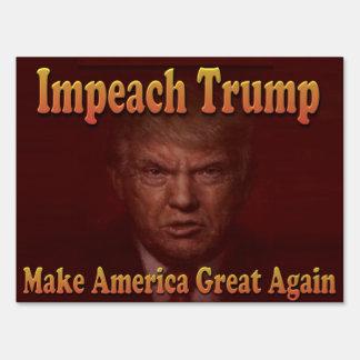 Impeach Trump Sign