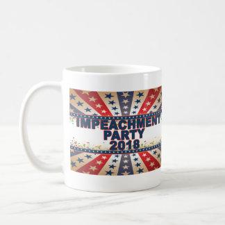 Impeachment Party 2018 Coffee Mug