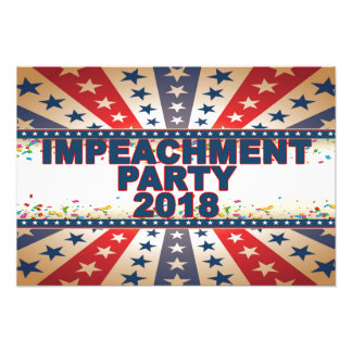 Impeachment Party 2018 Poster