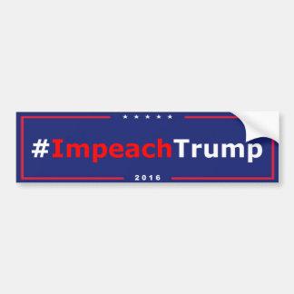 #ImpeachTrump Anti Trump Bumper Sticker
