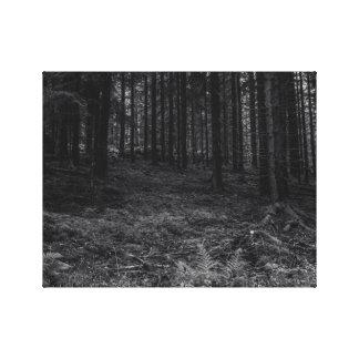 Impediment Forest Canvas Print