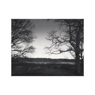 Impediment tree canvas print