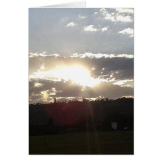 Imperani Sunset Card