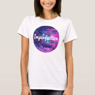 Imperfection Apparel Pink Galaxy Aura Tee