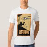 Imperial Airways ~ England - Egypt - India Shirt