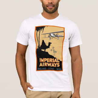Imperial Airways ~ England - Egypt - India T-Shirt
