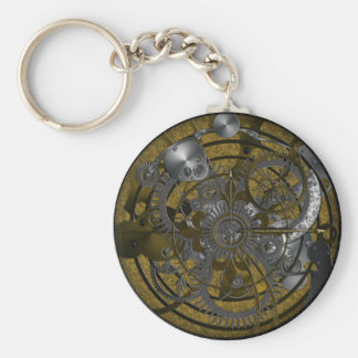 Imperial Clock Keychain