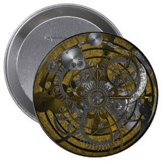 Imperial Clock Keychain 4 Inch Round Button