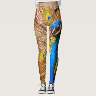 Imperial Empress Peacock Leggings