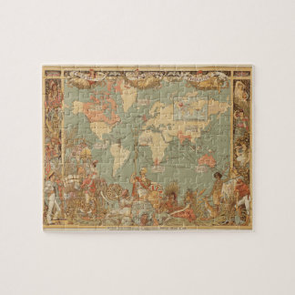 Imperial Federation, map of the world Puzzle