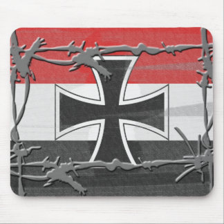 Imperial German Flag Mouse Pad