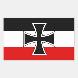 Imperial German Flag Sticker