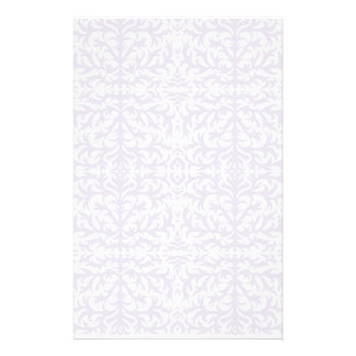 Imperial Grey Damask Stationery