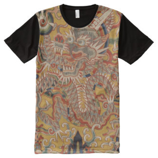 Imperial Ming Asian Chinese Dragon Art All-Over-Print T-Shirt