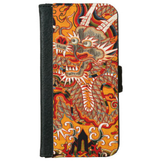 Imperial Ming Chinese Dragon Graphic iPhone Wallet