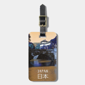 Imperial palace in Tokyo, Japan Luggage Tag