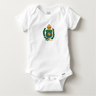 Imperial Personalized Baby Onesie