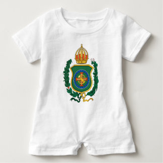 Imperial Personalized Baby Romper