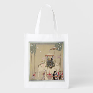 Imperial Procession (colour litho) Grocery Bag