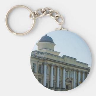 Imperial School of Jurisprudence Basic Round Button Keychain