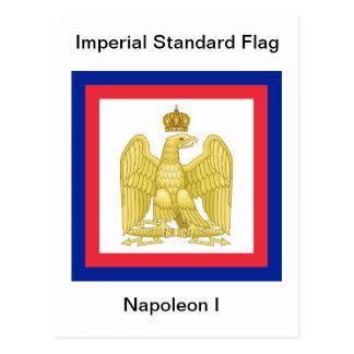 Imperial Standard Flag of Napoleon I Postcard