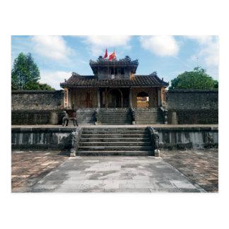 Imperial Tomb of Emperor Thieu Tri, Hue, Vietnam Postcard