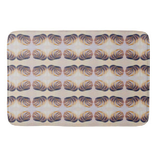 Imperial Venus Shell Pattern Bath Mat