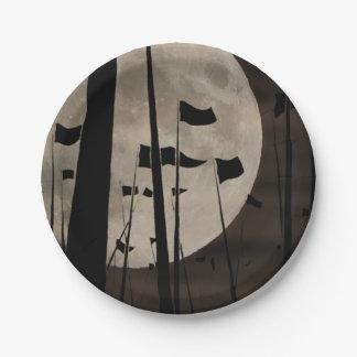 imperium roma paper plate