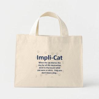 Impli-Chat Sacs En Toile