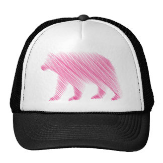 Implied Pink Bear Trucker Hat