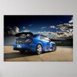 Import Racer - Sti Subaru Posters