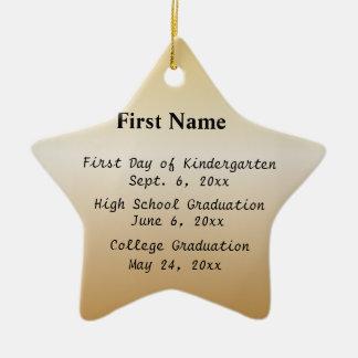 Important Dates & Achievements Ornaments