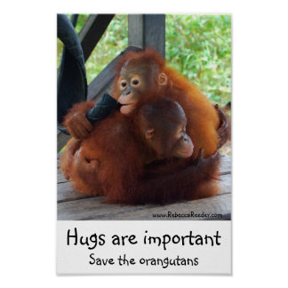 Important Inspirational Hugs Poster