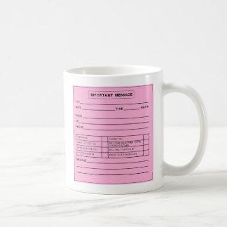Important Message mug