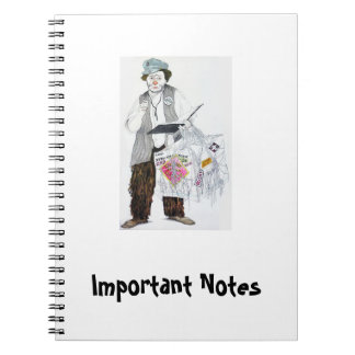 Important Notes - Photo Notebook Otto Griebling