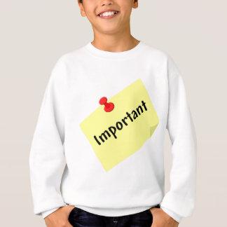 Important Post Note Sweatshirt