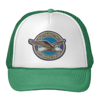 Imported Trucker cap - Aviation Pratt & Whitney Trucker Hat