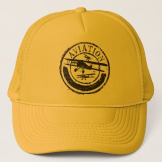 Imported Trucker cap - Print Aviation