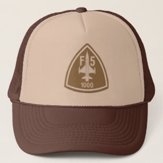 Imported Trucker cap - Print Aviation F-5
