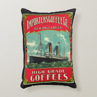 Importers Coffee Decorative Pillow