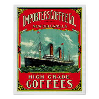 Importers Coffee Poster