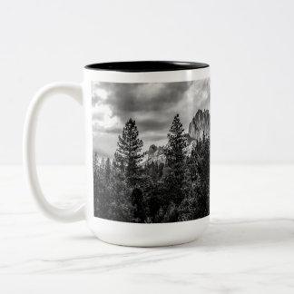 Imposing Two-Tone Coffee Mug